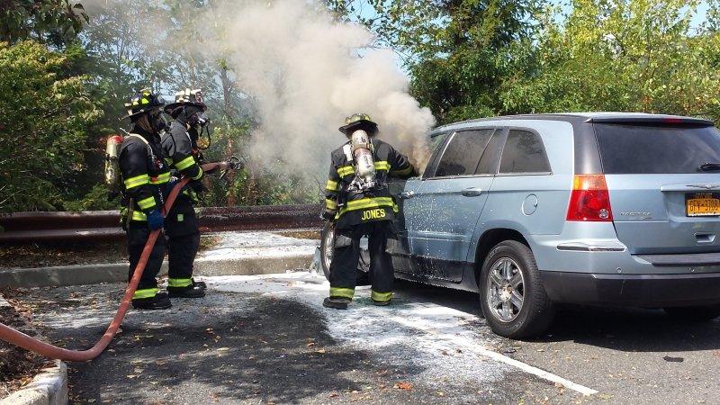 Car fire @ 565 Taxter Road